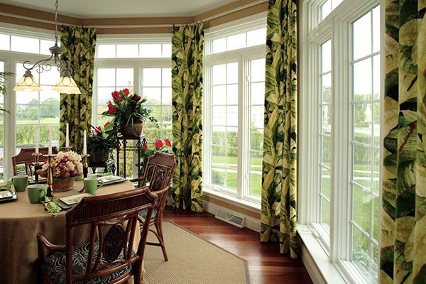 dining room casement windows