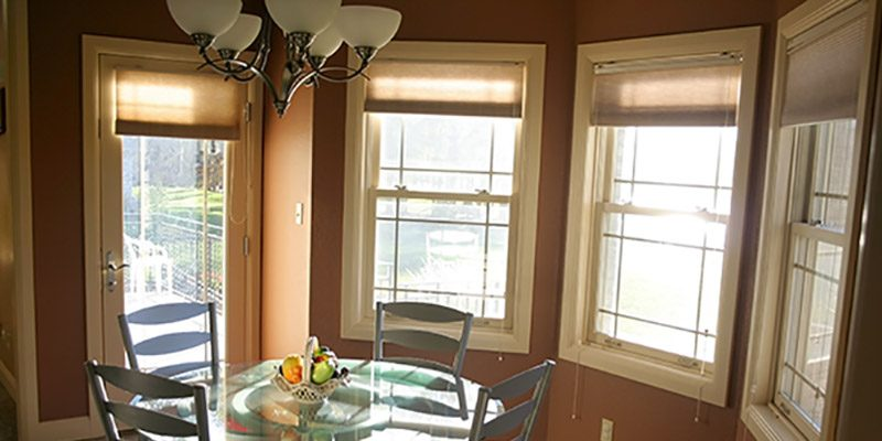 types of windows for dining rooms
