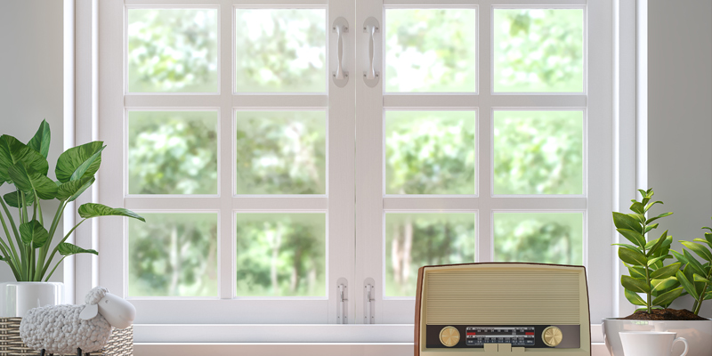 windows made of wood