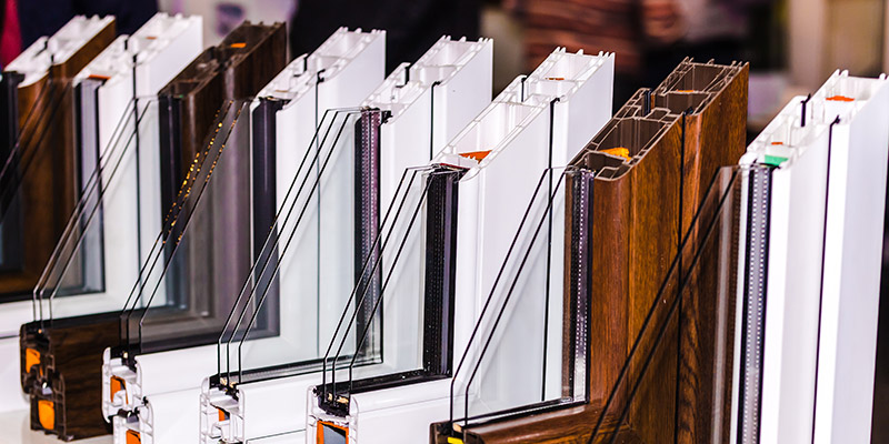 selection of window types