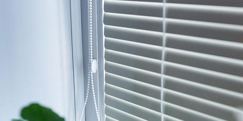 built in blinds on windows