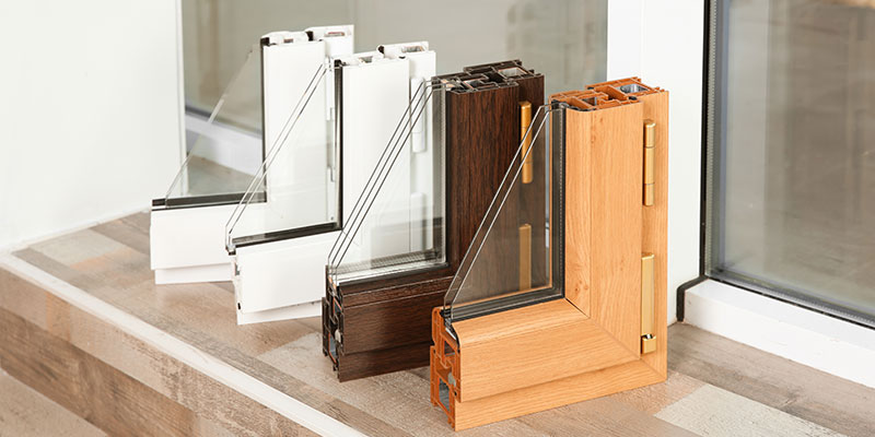 different styles of vinyl windows
